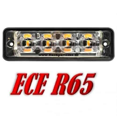 SSL-led-flitser-4x3-Watt-leds-r65-Amber