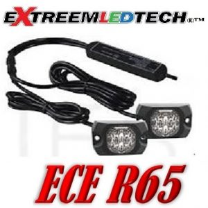 XT4S-20watt Led Covert Flitser set ECER65