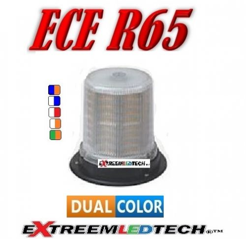 extreem challenger beacon dual color 128 led R65 R10 4 bout vast montage