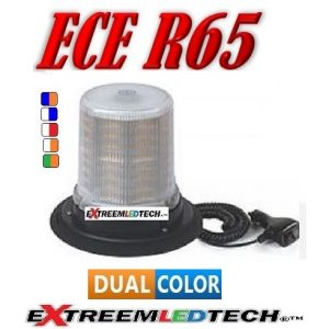 extreemledtech TMr challenger beacon 128 led magneet montage R65-R10 12 24v