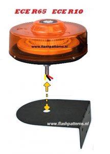 zwaailamp L beugel flashpatterns.nl center punt 2 - Copy