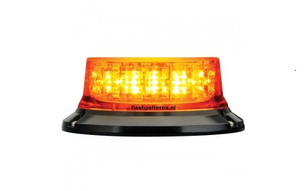 extreem orange led zwaailamp magmet flashpatterns nl