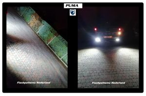 PUMA 40W Led Cree werk lamp IP68 -foto ford ranger ludo